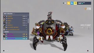 Overwatch Anniversary 2019 New Cosmetics Showcase - All Skins & Dance Emotes
