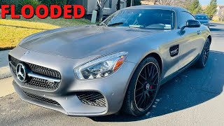 Bought FLOODED Mercedes AMG GT.S [PART 2] (VIDEO #96)