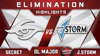 Secret vs J.Storm [TOP 6] Stockholm Major DreamLeague Highlights 2019 Dota 2