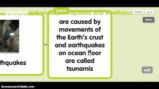 volcanos ,earthquakes and weathering