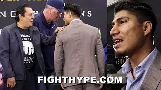 MIKEY GARCIA REVEALS WHAT ROBERTO DURAN TOLD HIM WHEN THEY MET RIGHT BEFORE SPENCE FACE OFF