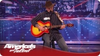 War Hero Brings The Crowd To Tears With His Song and Story -  AGT Season 7 Tim Poe Audition