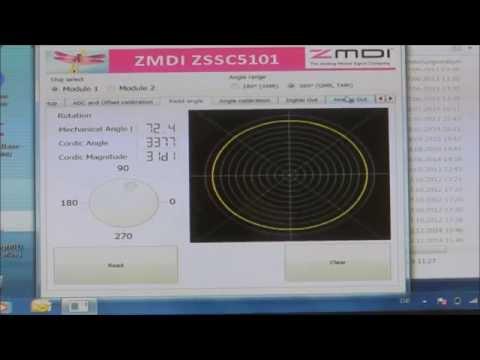 ZSSC5101 Magnetic Sensor Interface IC for Magnetoresistive Bridge Sensors