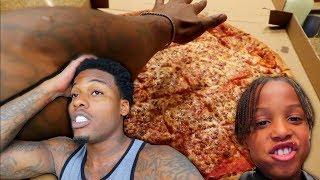 Giant Pizza Challenge Fail!