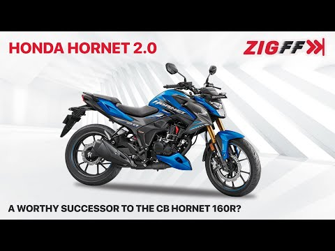 ????? Honda Hornet 2.0 Launched   Engine specs, features, rivals & more   ZigFF