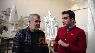 "Nis puna per monumentin e ""Skenderbeut"" | ABC News Albania"