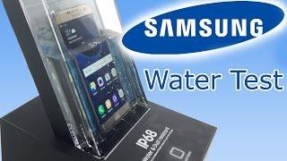 Water & Dust Resistant Test Samsung Galaxy S7 Edge