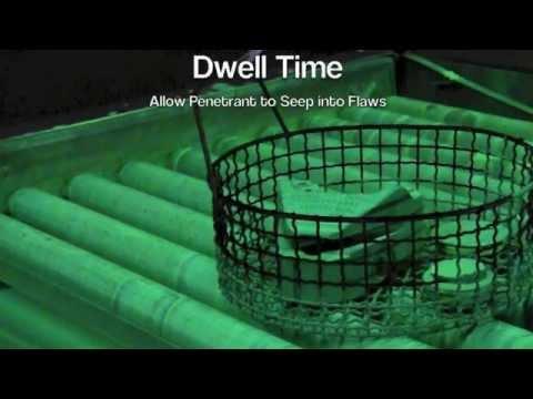 Liquid Penetrant Testing (Fluorescent Penetrant Inspection)