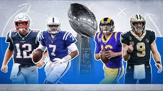 Fun Predictions For The Entire 2019 NFL Postseason And Super Bowl 54 Champion... DO YOU AGREE?