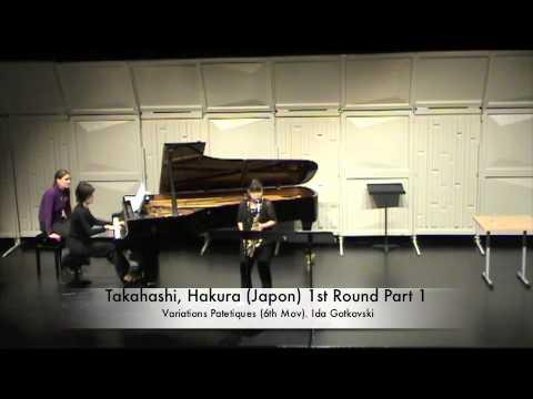 Takahashi, Hakura Japon 1st Round Part 1