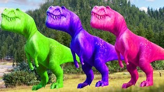 Learn Colors With ARLO THE GOOD DINOSAUR Funny Momment Videos #11 - Learning Video for Kids