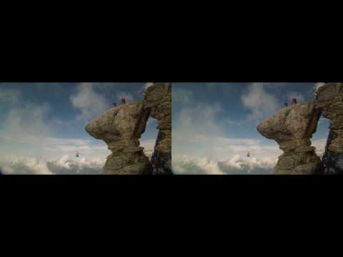 Red Bull Human Flight 3D trailer - In 3D!