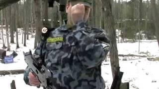Laser tag en la nieve