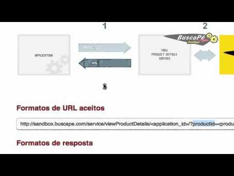 Como obter detalhes técnicos de um produto  usando a API do BuscaPé