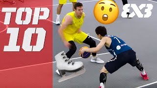 Top 10 Ankle Breakers of 2018! - FIBA 3x3