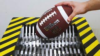 EXPERIMENT Shredding AMERICAN FOOTBALL