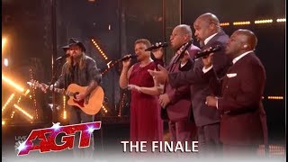 Billy Ray Cyrus With Voices Of Service MOVING Performance | America's Got Talent 2019