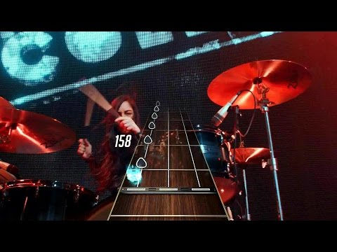 New Guitar Hero 2015 Gameplay - Light Em Up by Fallout Boy (250 Note Streak)