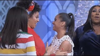 Tamera Mowry-Housley Cries over Misty Copeland's Compliment