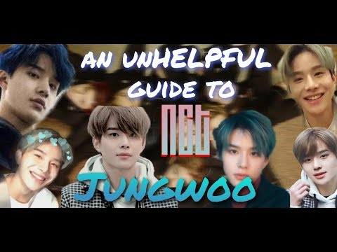 an unHELPFUL guide to NCT JUNGWOO