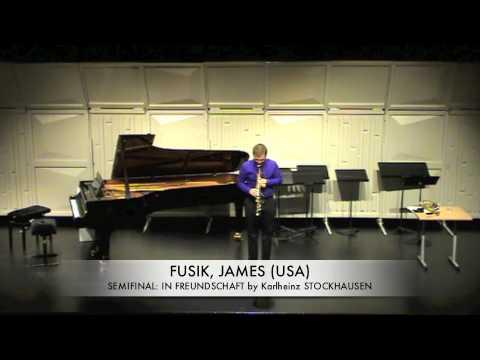 FUSIK, JAMES USA IN FREUNDSCHAFT Karlheinz stockhausen