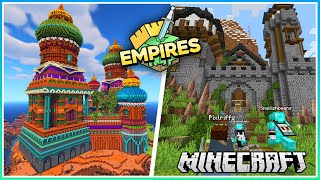 The Base Grows & Alliance Dungeon! | Empires SMP | Ep.18 (1.17 Survival)