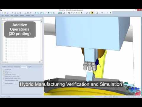 IMS Software creates Hybrid Manufacturing Simulation using MachineWorks Software
