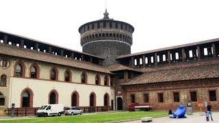 Sforza Castle - Milan, Italy