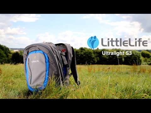 video A lightweight option for child carriers: LittleLife Ultralight Convertible Child Carrier