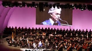Andrea Bocelli Concert 6-18-19 'Canto Della Terra' Pia Toscano & 'My Way' Jamie Foxx Night 1 LA CA