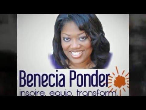 Benecia Ponder | Inspirational Christian Speaker«
