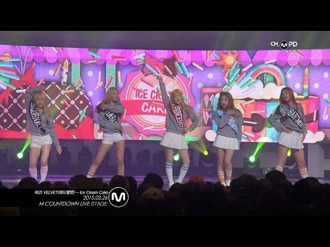 [MPD직캠] 레드벨벳 직캠 Ice Cream Cake RED VELVET Fancam Mnet MCOUNTDOWN 150326