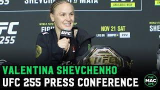 Valentina Shevchenko wants third fight with Amanda Nunes before fighting Weili Zhang