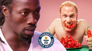 Ghost Pepper Chilli Showdown - Guinness World Records
