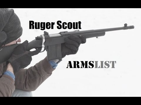 The Ruger Gunsite Scout  - Bolt Action