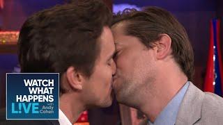 Matt Bomer And Andrew Rannells Get 'Uncomfortably Close'   WWHL
