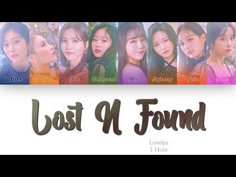 [1 시간 / 1 HOUR LOOP] LOVELYZ (러블리즈) - 'Lost N Found' (찾아가세요) - Color Coded Lyrics