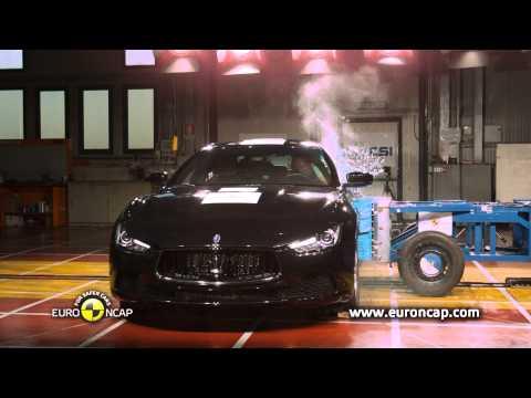 Maserati Ghibli - test zderzeniowy Euro NCAP