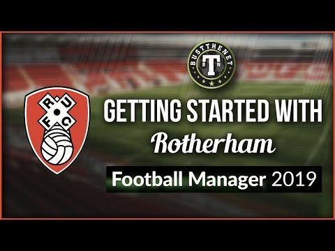 Getting Started With Rotherham Football Manager 2019