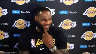 LeBron James Full Press Conference | July 30, 2020