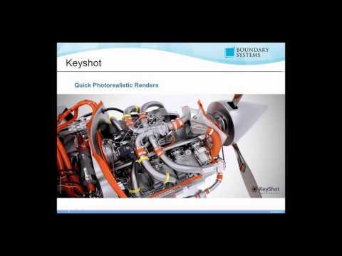 Rendering in Keyshot