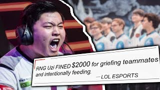 Are ESPORTS Players Toxic? - League of Legends