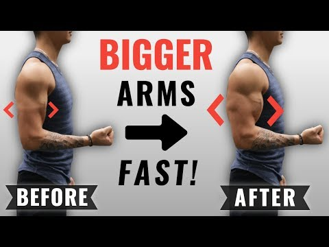 How to Get Bigger Arms FAST (4 Science-Based Tips)