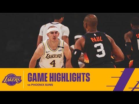 HIGHLIGHTS   Alex Caruso (17 pts, 8 ast, 3 stl) vs Phoenix Suns
