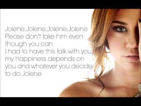 Jolene - Miley Cyrus, Lyrics