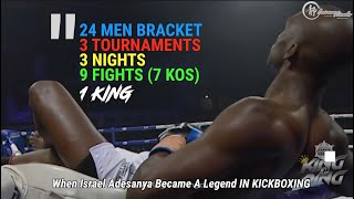 24 Men, 1 King | Israel Adesanya's Most Spectacular Feat to Date