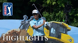 Michael Kim's highlights   Round 4   John Deere 2018