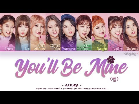 NATURE (네이처) – YOU'LL BE MINE/SOME (썸) (Color Coded Lyrics Eng/Rom/Han/가사)