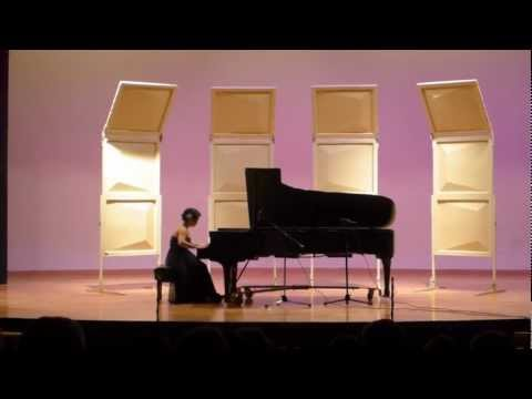 Phebe Yeo Graduate Piano Recital 2012: Beethoven Sonata in E Major, Op. 109 (Mov. 3)