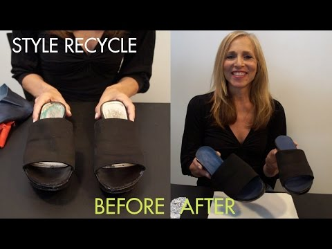 DIY Fashion: Style Recycle Your Favorite Sandals